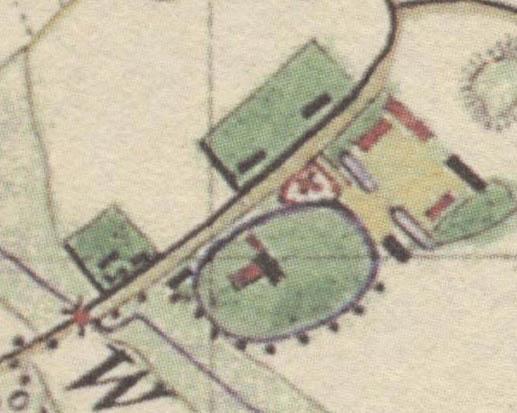 Prussische Karte vom 1835