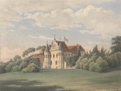 Schloss Klevenow 1862